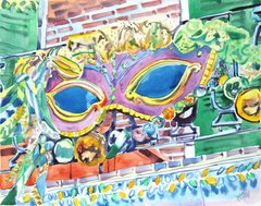Mardi Gras Mask (New Orleans)