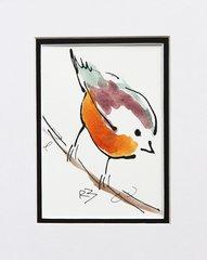 Watercolor Bird #512