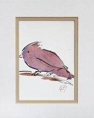 Watercolor Bird #450