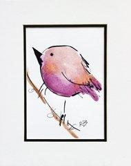 Watercolor Bird #511
