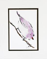 Watercolor Bird #179