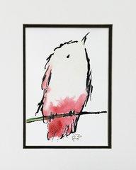 Watercolor Bird #133