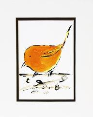 Watercolor Bird #168