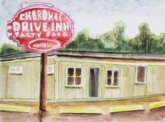 Cherokee Drive Inn Storefront