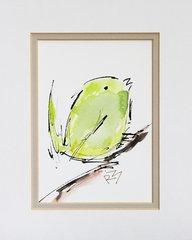 Watercolor Bird #346