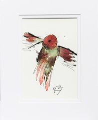 Watercolor Bird #519