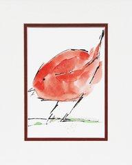 Watercolor Bird #338