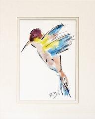 Watercolor Bird #501