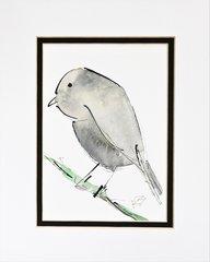 Watercolor Bird #351
