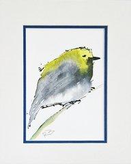 Watercolor Bird #7