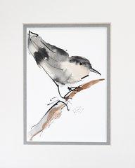 Watercolor Bird #350