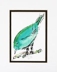 Watercolor Bird #275