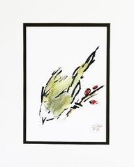 Watercolor Bird #164