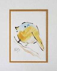 Watercolor Bird #474