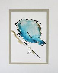 Watercolor Bird #490