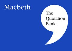 The Quotation Bank - Macbeth