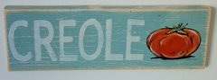 Creole Tomato Wooden Wall Art