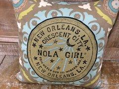 NOLA Girl Pillow
