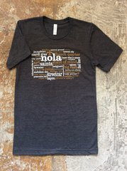 "NOLA ""Grafitti"" Unisex Cotton Tee"
