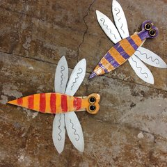 Dragonfly Folk Art