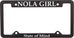 NOLA Girl License Plate Holder