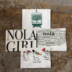 NOLA Themed Floursack Towel