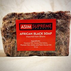 African Black Soap ( 16 oz.)