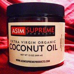 Extra Virgin Organic Coconut Oil (15 oz.)