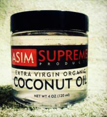 Extra Virgin Organic Coconut Oil ( 4 oz. )
