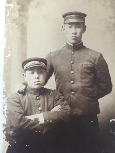 Japanese Army Meiji Era Soldiers Studio Portrait Photo ...