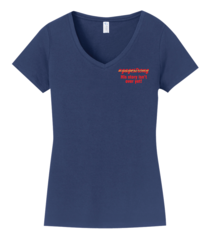 Gage Strong: Ladies V-Neck Tee