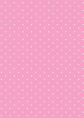 Baby Pink Printed Dot Tissue Paper