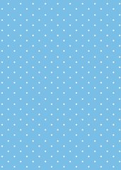 Baby Blue Printed Dot Tissue Paper