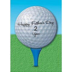 Golf Lover Father's Day Card