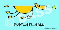 Must Get Ball! - Sticker