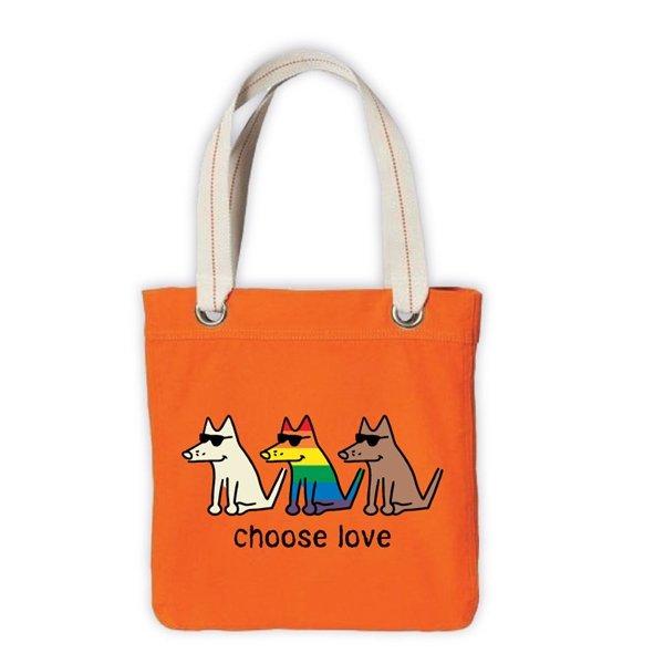 Choose Love Canvas Tote Bag