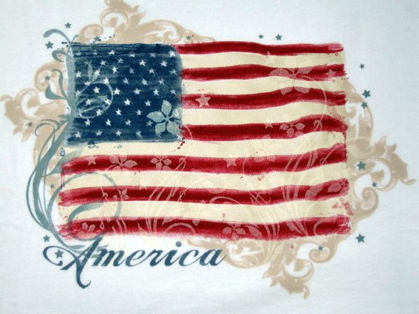 America Stars and Stripes T-shirt