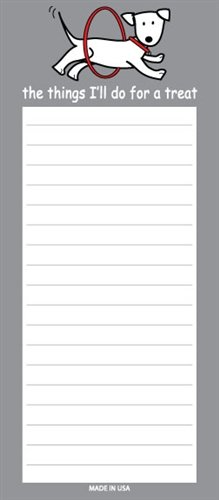 MAGNETIC Notepad - Things I'll Do for a Treat