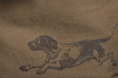 Running Dog - Cocoa Brown - Ladies Long Sleeve