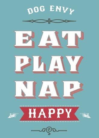 Eat Play Nap Happy - Magnet