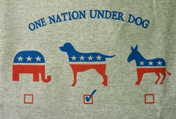 One Nation Under Dog T-shirt