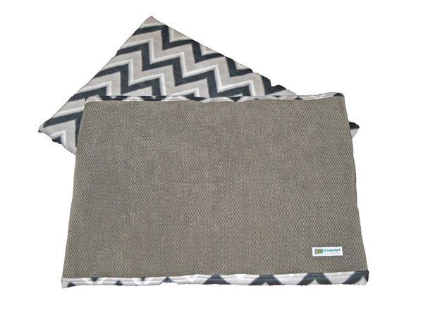 CrateMates LARGE Pet Pad Bed - GRAY