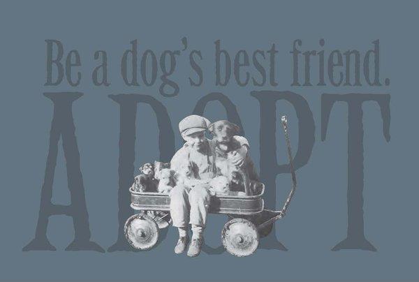 Be a Dog's Best Friend ADOPT (Ladies) - MEDIUM only
