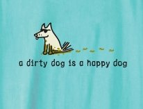 A Dirty Dog is a Happy Dog