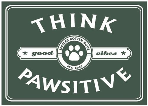 Think Pawsitive - Magnet