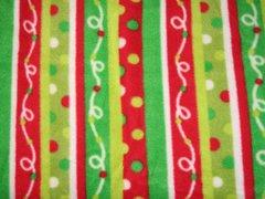 CrateMates MED/LONG Pet Pad Bed - Holiday