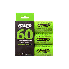 Doo-n-go Eco-friendly Dog Poop Bags LARGE size