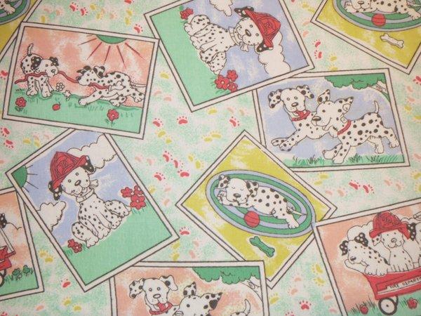 Cotton Washable Placemats - Dalmatians