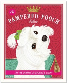 Pampered Pooch (Maltese)