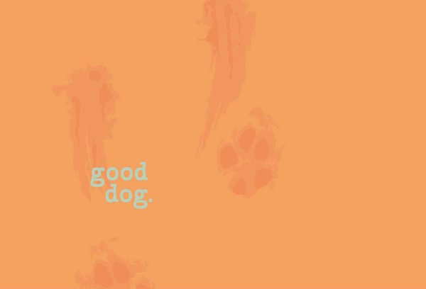 Good Dog (back design) Unisex Hoodie